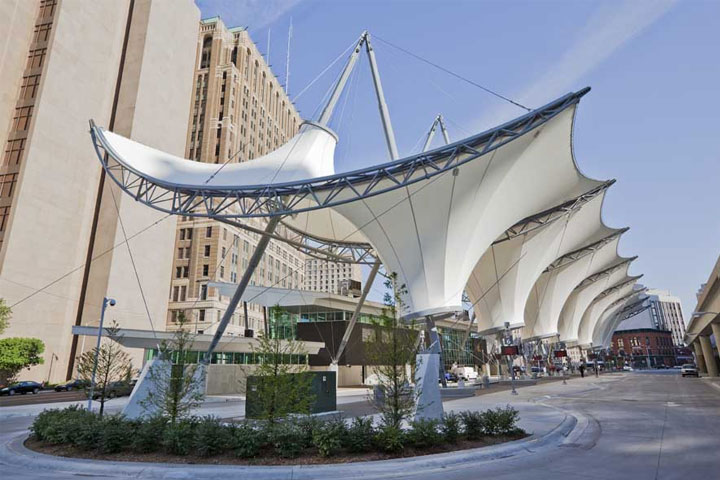 Architects recommending Tensile structures