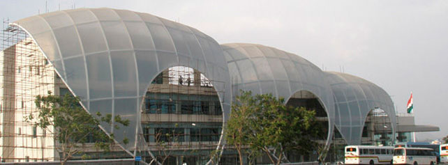 Architectural Tensile Structure